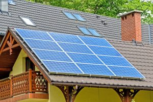 Solaranlage der Haus- und Solartechnik Auerbacher GmbH, Hunderdorf